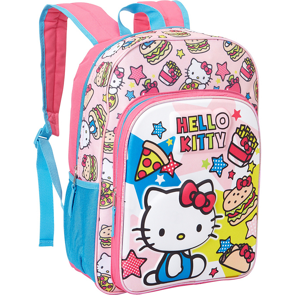 Hello Kitty Fab NY Food Molded EVA Backpack Pink - Hello Kitty Fab NY Everyday Backpacks