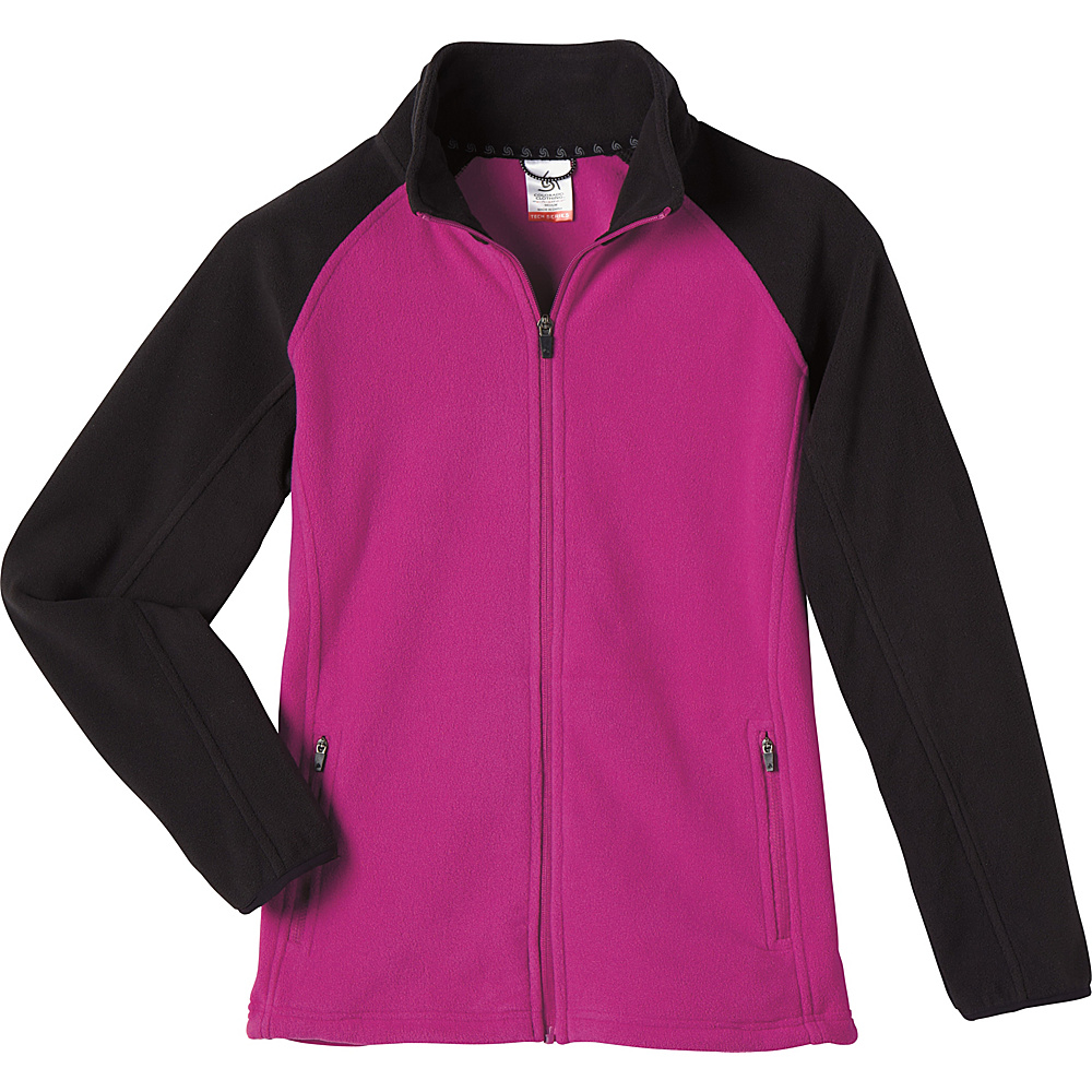 Colorado Clothing Womens Steamboat Jacket S - Sangria/Black - Colorado Clothing Women's Apparel Womens Steamboat Jacket S - Sangria/Black. Innovative and versatile, the Tech Series is engineered with high-performance features that go the extra mile. Moisture wicking, breathing, and water-resistant capabilities provide essential protection from the elements.