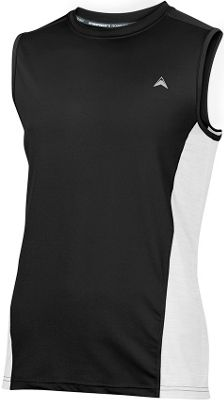 Arctic Cool Mens Sleeveless Instant Cooling Shirt with Mesh L - Cool Black - Arctic Cool Men's Apparel