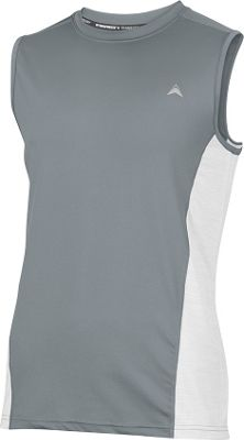Arctic Cool Mens Sleeveless Instant Cooling Shirt with Mesh 2XL - Storm Grey - Arctic Cool Men's Apparel