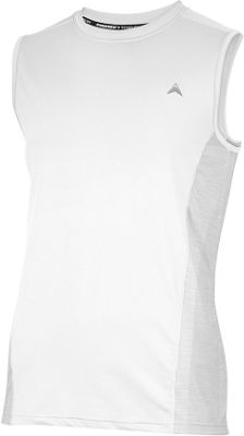 Arctic Cool Mens Sleeveless Instant Cooling Shirt with Mesh XL - Arctic White - Arctic Cool Men's Apparel