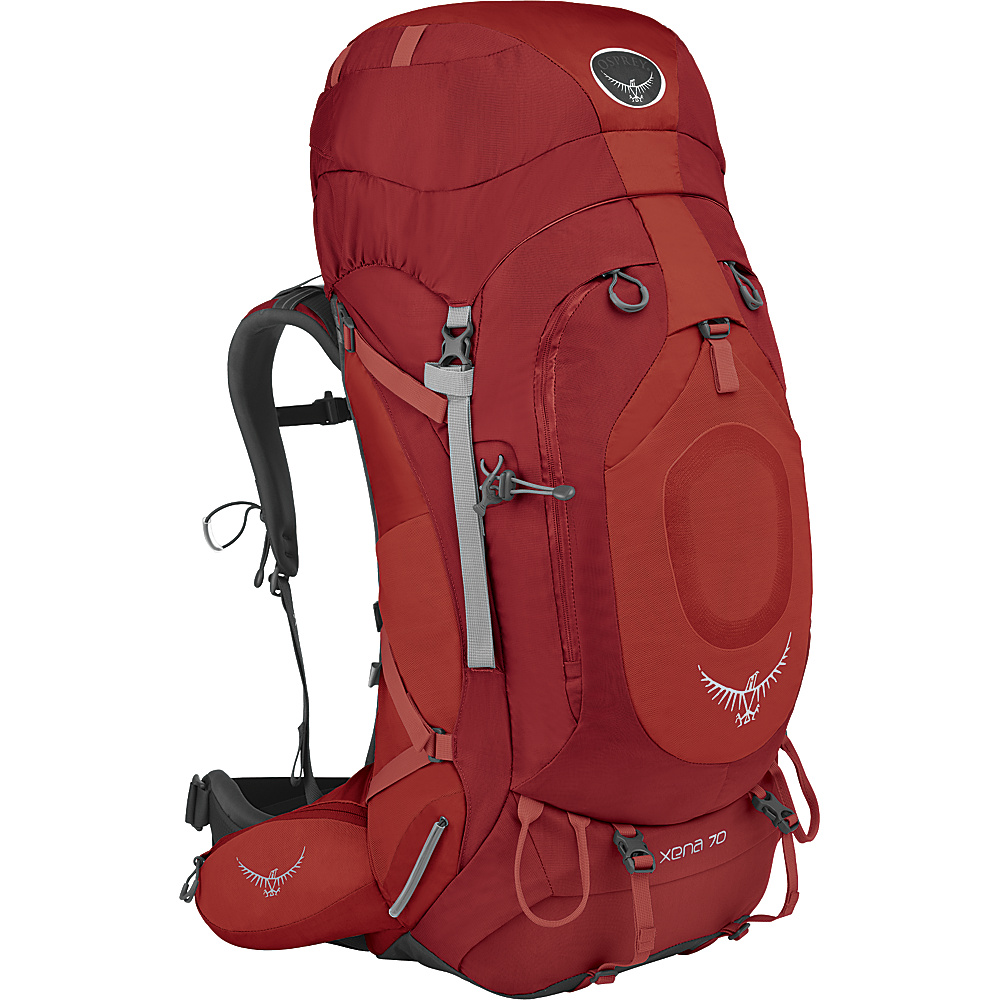 Osprey Xena 70 Backpack Ruby Red - XS - Osprey Backpacking Packs - Outdoor, Backpacking Packs