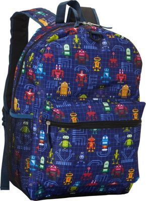 Fab Starpoint Fashion 17 inch Backpack with Headphones Blue - Fab Starpoint Fashion Everyday Backpacks
