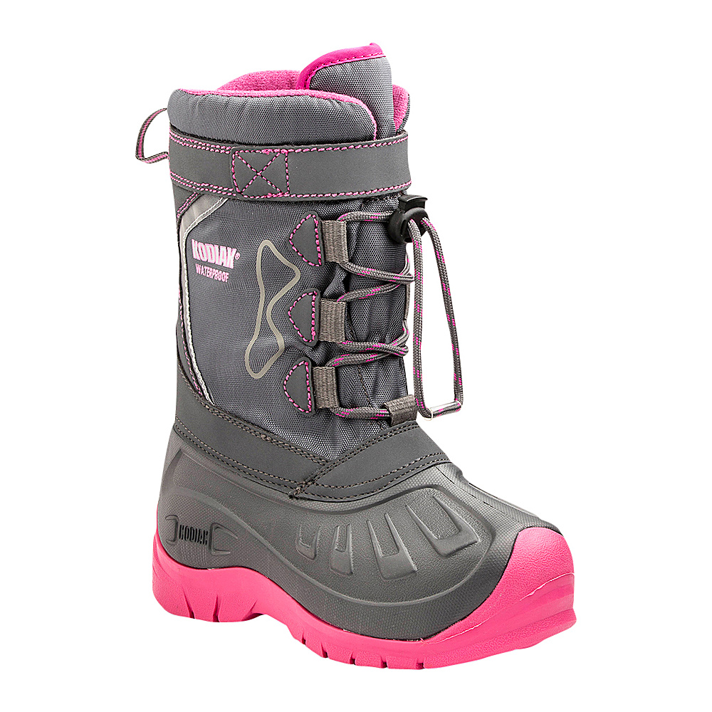 Kodiak Glo Gracie Boot 3 US Kid s M Regular Medium Grey Pink Kodiak Women s Footwear