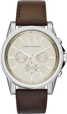 A/X Armani Exchange Outer Banks Watch Brown - A/X Armani Exchange Watches