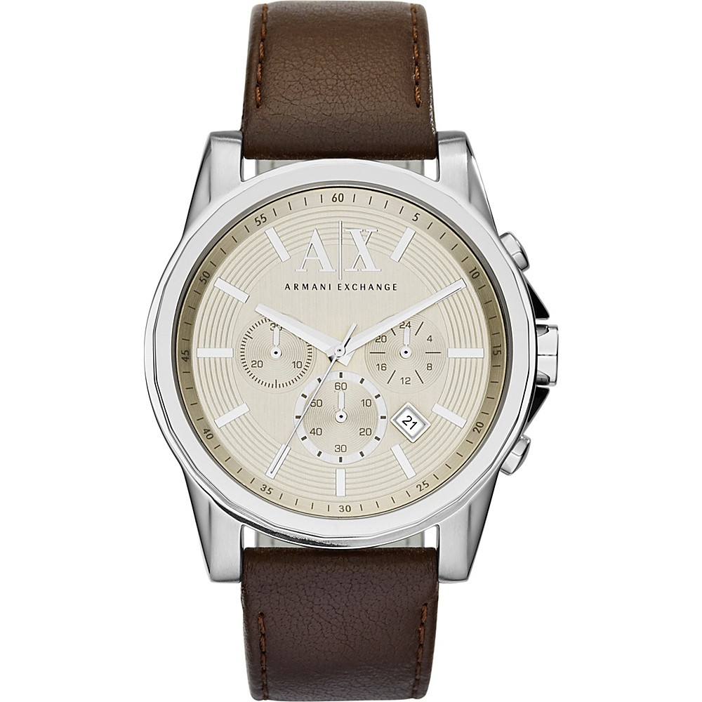 A X Armani Exchange Outer Banks Watch Brown A X Armani Exchange Watches