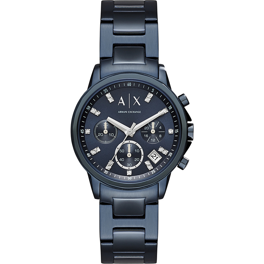 A X Armani Exchange Active Watch Blue A X Armani Exchange Watches