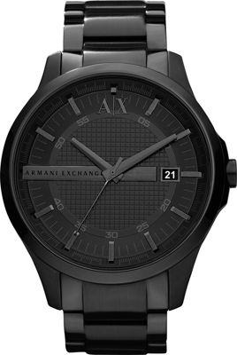 A/X Armani Exchange Smart Stainless Steel Watch Black - A...