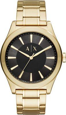 A/X Armani Exchange Smart Watch Gold - A/X Armani Exchange Watches