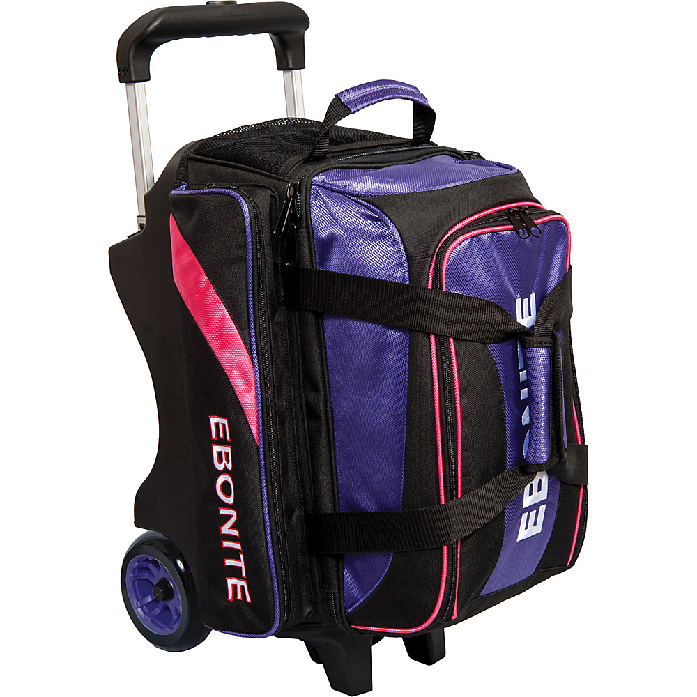 Ebonite Equinox Double Roller Bowling Bag Purple Ebonite Bowling Bags