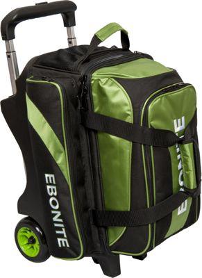 Ebonite Equinox Double Roller Bowling Bag Lime - Ebonite Bowling Bags