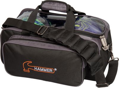 Hammer Premium Double Bowling Tote Carbon - Hammer Bowling Bags