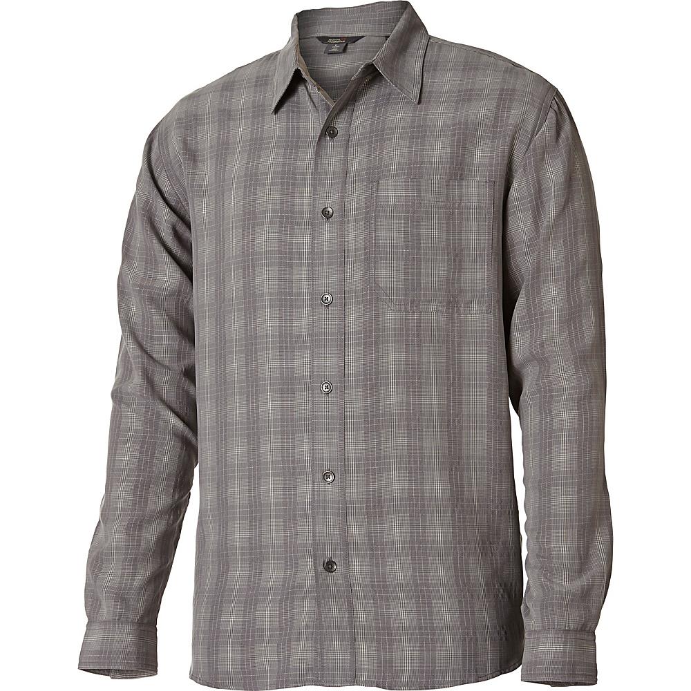Royal Robbins San Juan Plaid Long Sleeve Top 2XL - Pewter - Royal Robbins Mens Apparel - Apparel & Footwear, Men's Apparel