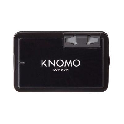 KNOMO London World Travel Adaptor Black - KNOMO London Electronics