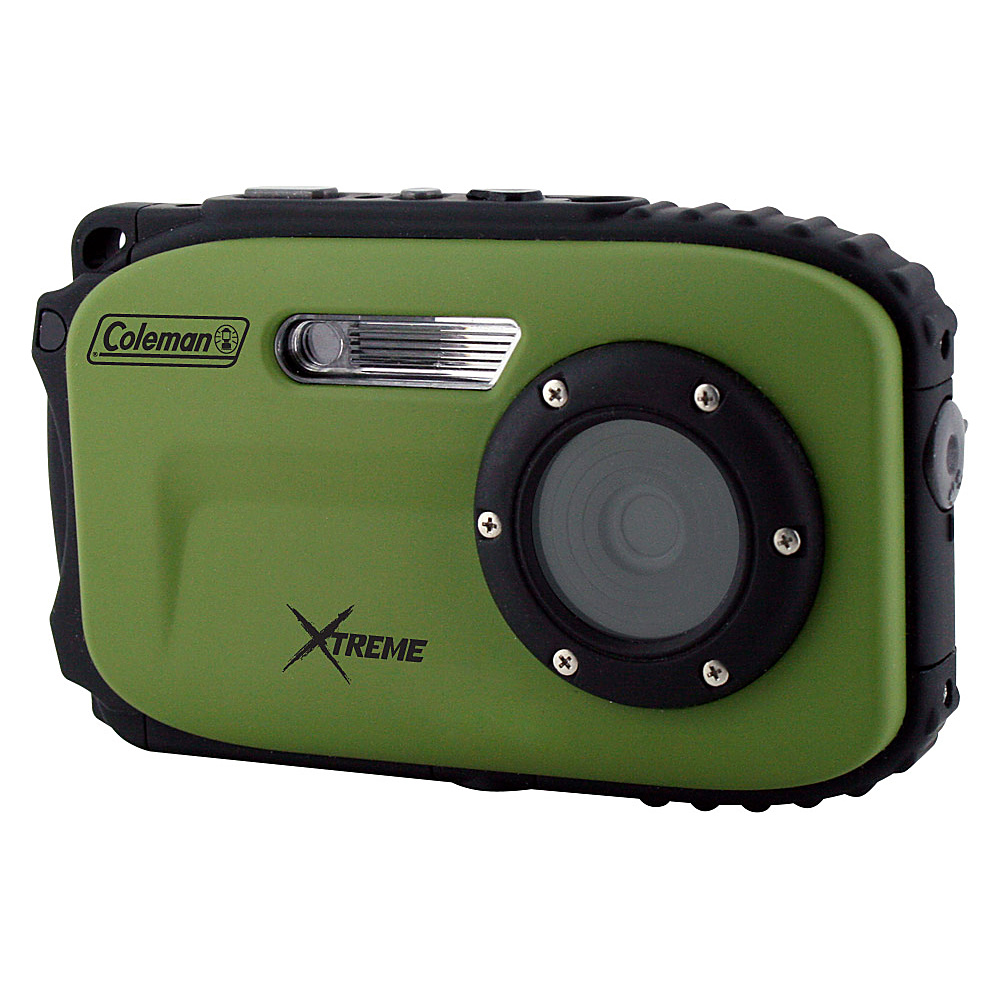 Coleman Xtreme 16.0 MP Underwater Digital Video Camera Waterproof to 33 ft Green Coleman Cameras