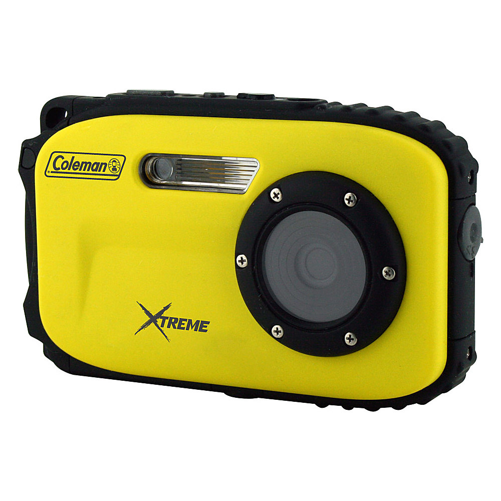 Coleman Xtreme 16.0 MP Underwater Digital Video Camera Waterproof to 33 ft Yellow Coleman Cameras