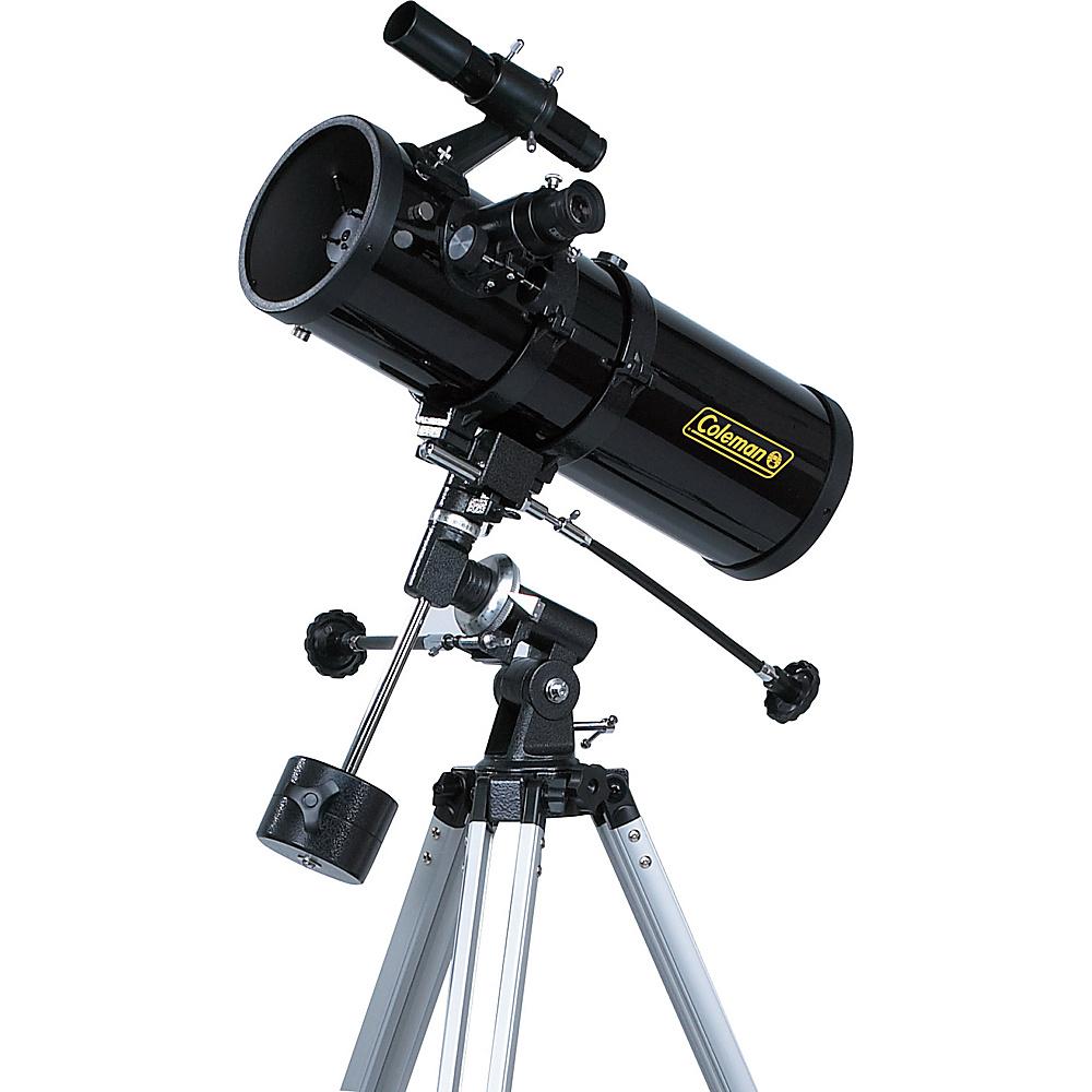 Coleman AstroWatch D114mm x 500mm Reflector Telescope Black Coleman Cameras