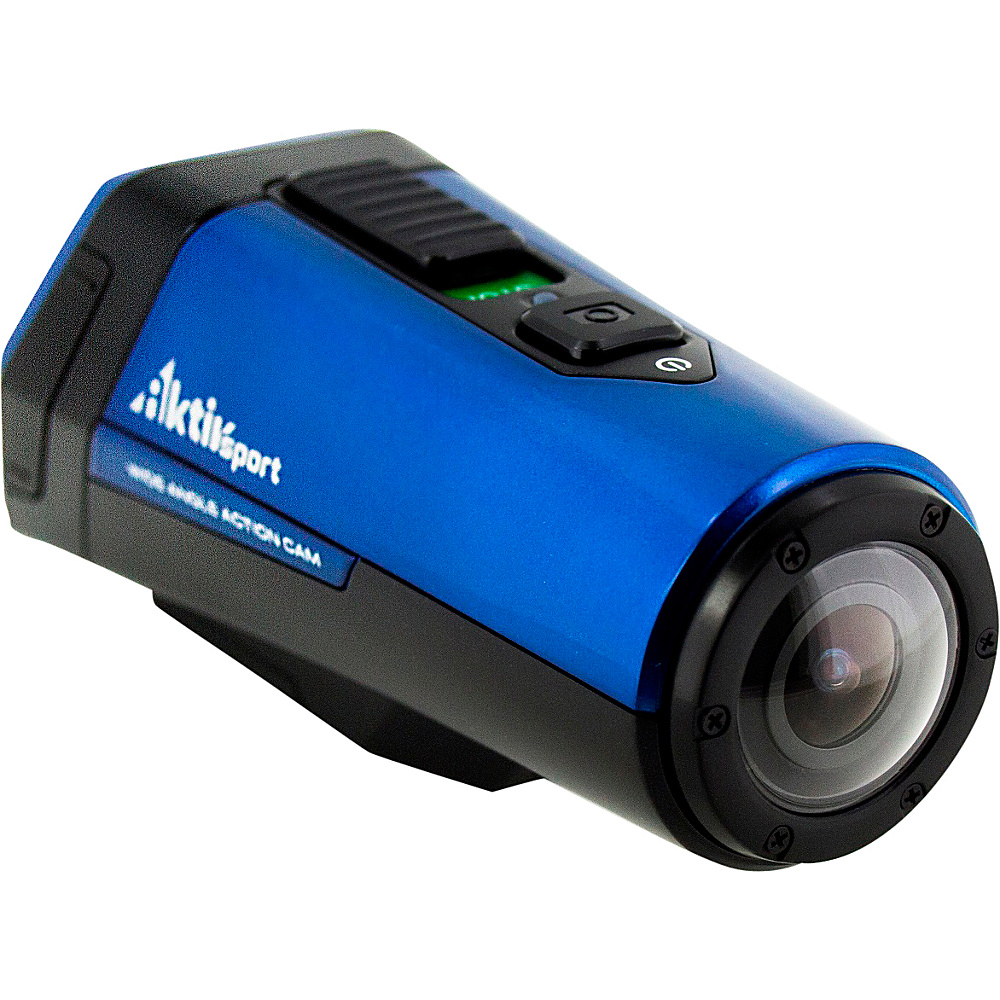 Coleman 1080p HD 16.0 MP Waterproof Sports Exercise Camera with Built in GPS Blue Coleman Cameras