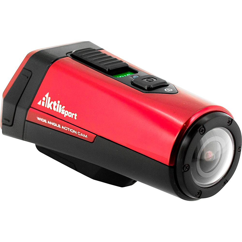 Coleman 1080p HD 16.0 MP Waterproof Sports Exercise Camera with Built in GPS Red Coleman Cameras