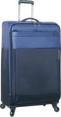 Nautica Harpswell 28 inch Expandable Spinner Blue - Nautica Softside Checked