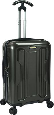 PROKAS Ultimax 22 inch  Carry-On Spinner Charcoal - PROKAS Hardside Carry-On