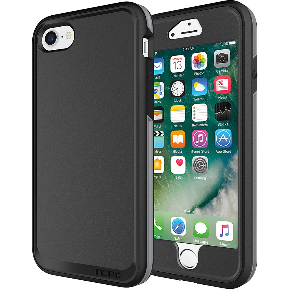 Incipio Performance Series Max for iPhone 7 Black/Gray(BKG) - Incipio Electronic Cases - Technology, Electronic Cases