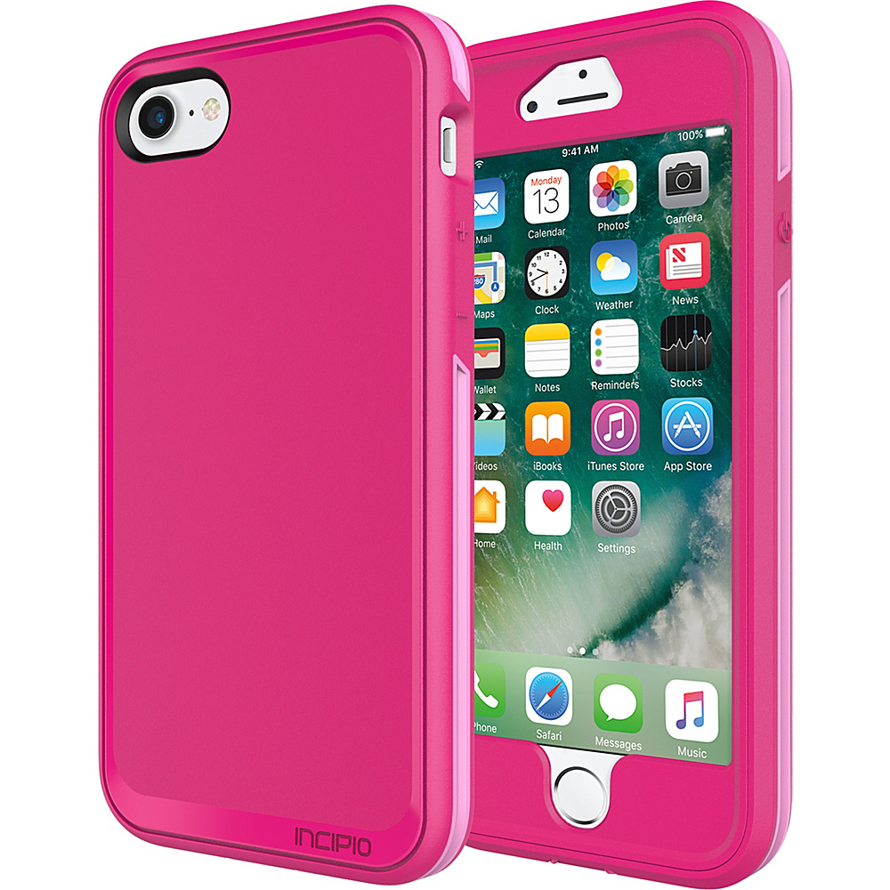 Incipio Performance Series Max for iPhone 7 Berry Pink/Rose(BPR) - Incipio Electronic Cases - Technology, Electronic Cases
