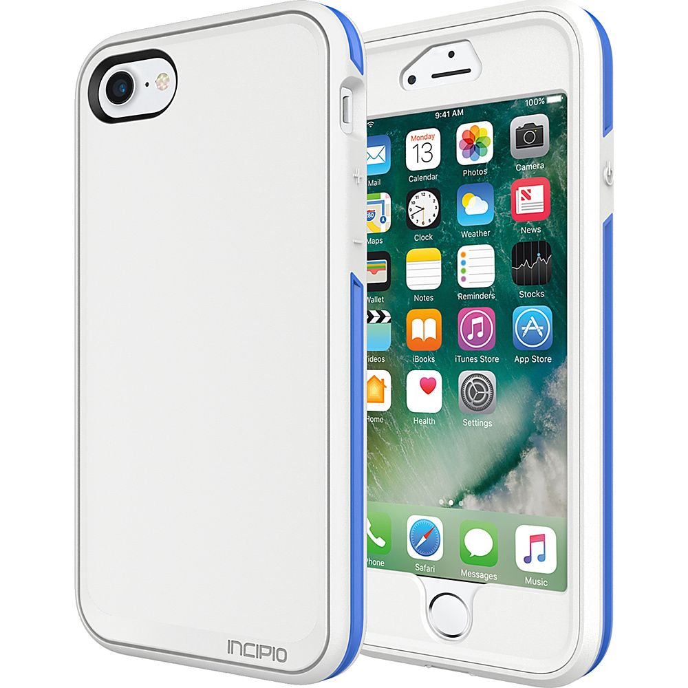 Incipio Performance Series Max for iPhone 7 White/Blue(WBL) - Incipio Electronic Cases - Technology, Electronic Cases
