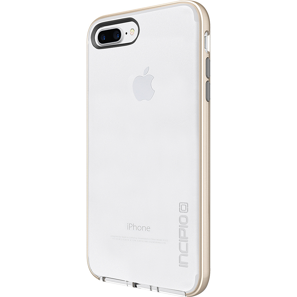 Incipio Reprieve [LUX] for iPhone 7 Plus Clear/Iridescent Champagne/Light Gray(CCG) - Incipio Electronic Cases - Technology, Electronic Cases