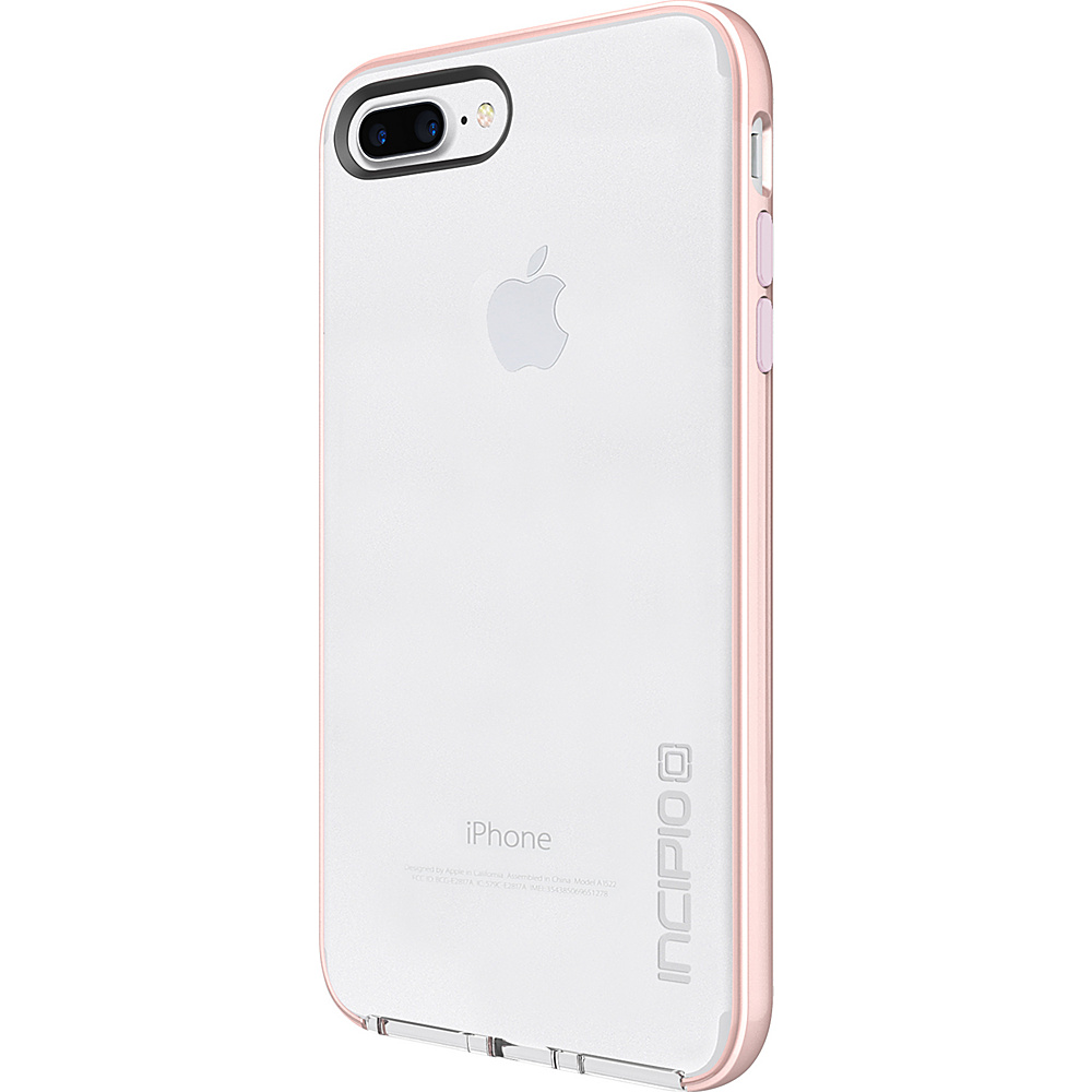 Incipio Reprieve [LUX] for iPhone 7 Plus Clear/Iridescent Rose Gold/Blush Pink(CRP) - Incipio Electronic Cases - Technology, Electronic Cases