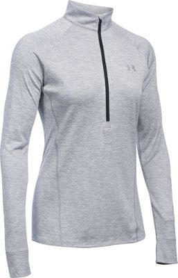 Under Armour Tech 1/2 Zip Twist S - Steel - Under Armour Women's Apparel 10493127