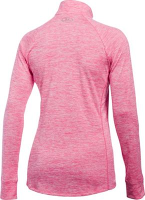 Under Armour Tech 1/2 Zip Twist S - Steel - Under Armour Women's Apparel