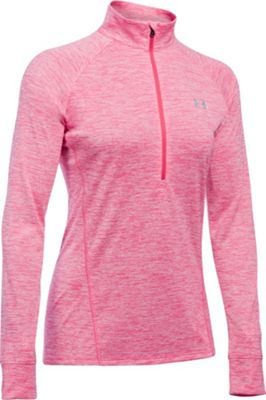 Under Armour Tech 1/2 Zip Twist L - Pink Sky - Under Armour Women's Apparel