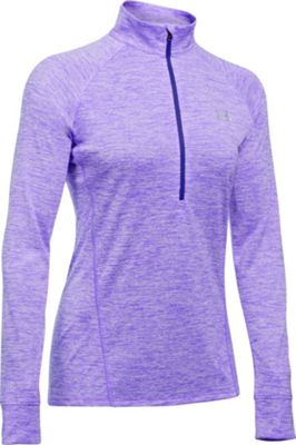 Under Armour Tech 1/2 Zip Twist M - Violet Storm - Under Armour Women's Apparel