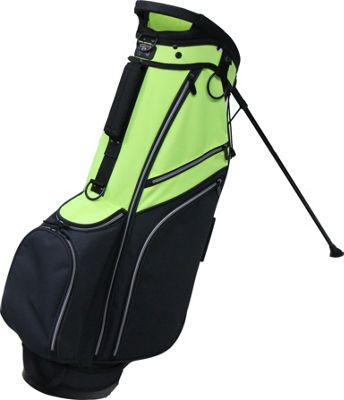 RJ Golf Deluxe Stand Bag Black/Neon - RJ Golf Golf Bags