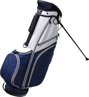 RJ Golf Deluxe Stand Bag Grey/Navy - RJ Golf Golf Bags