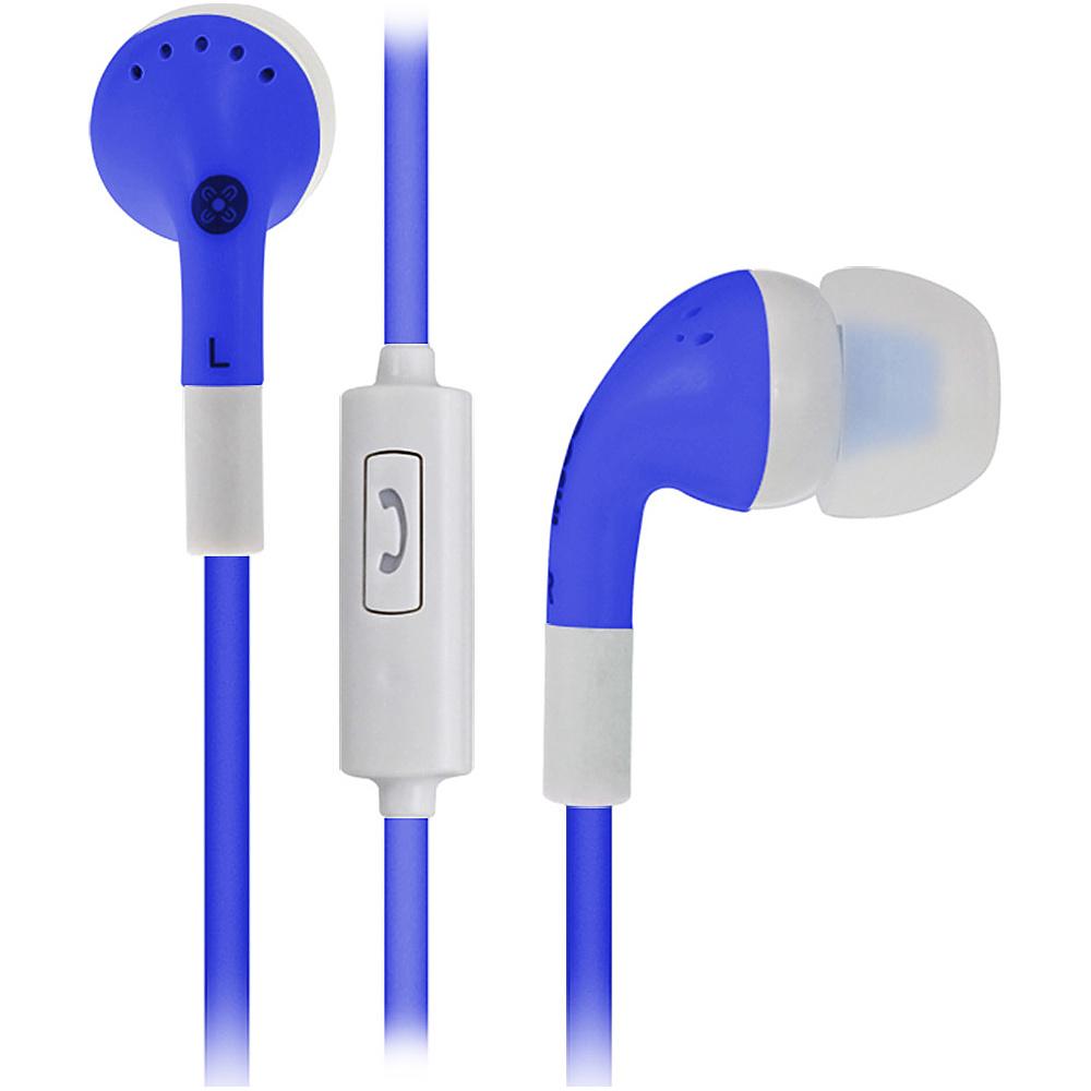 Moki Noise Isolation Earbuds Blues Moki Headphones Speakers