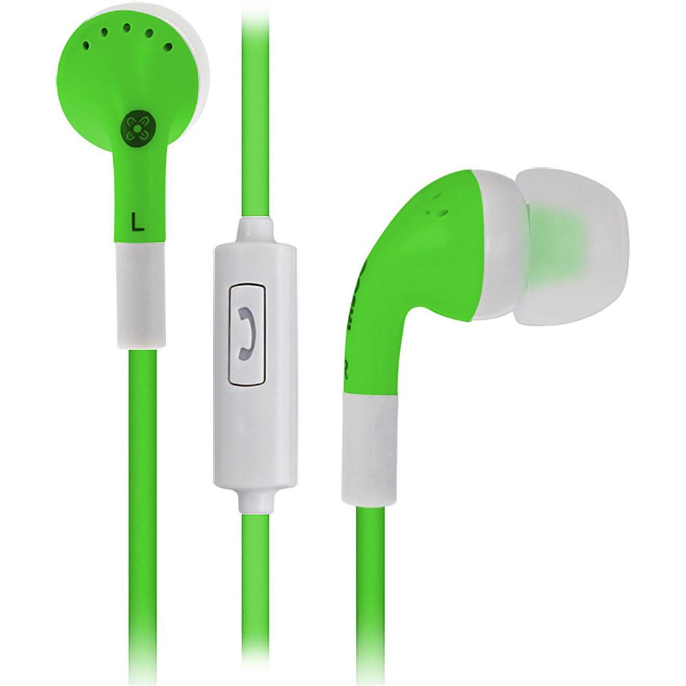 Moki Noise Isolation Earbuds Green Moki Headphones Speakers