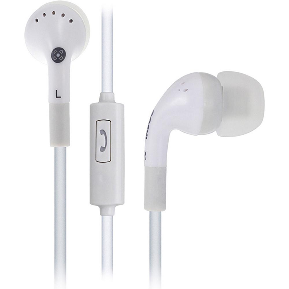 Moki Noise Isolation Earbuds White Moki Headphones Speakers