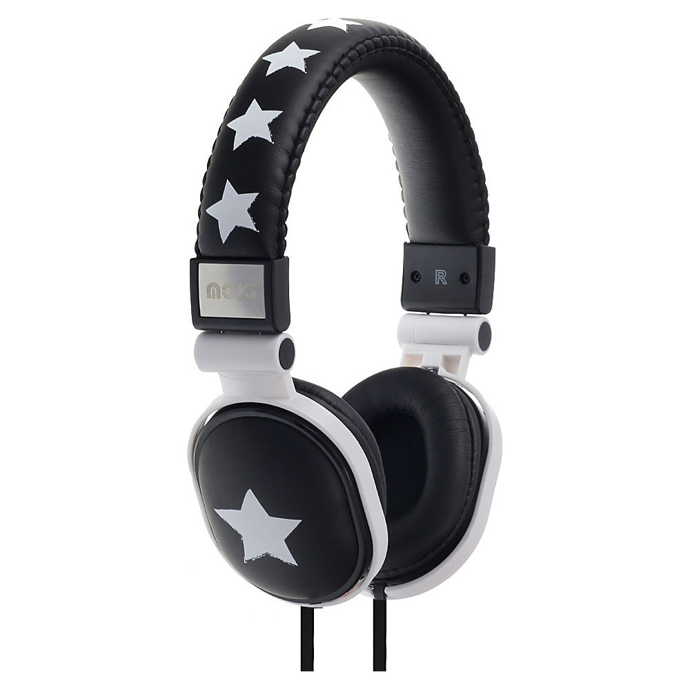 Moki Popper Headphones Rockstar Black Moki Headphones Speakers