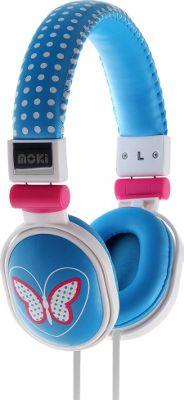 Moki Popper Headphones Butter Fly - Moki Headphones & Speakers