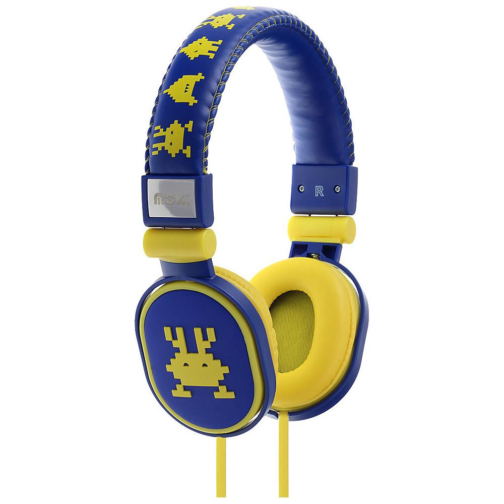 Moki Popper Headphones Martina Blue Moki Headphones Speakers