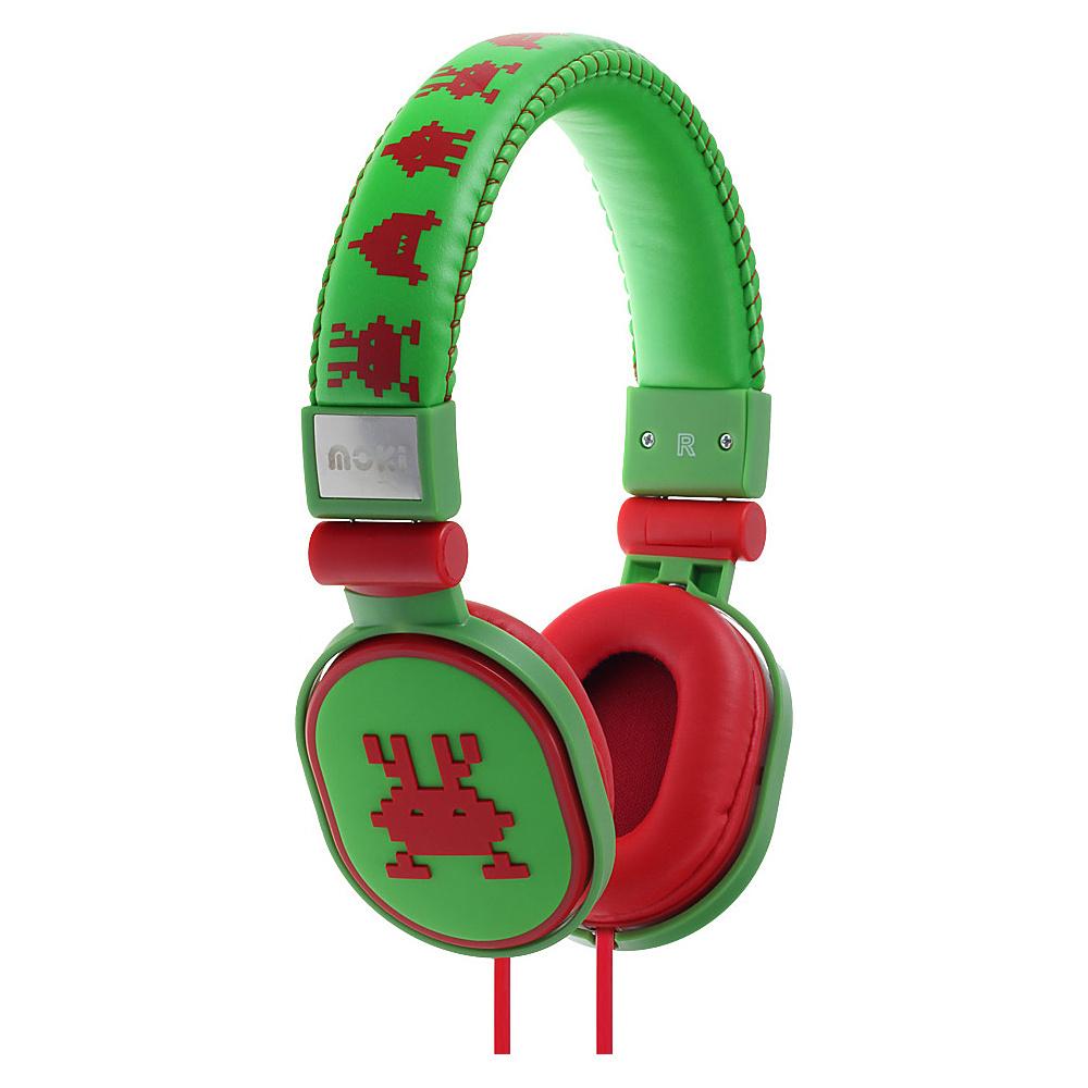 Moki Popper Headphones Martian Green Moki Headphones Speakers