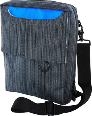 Walter + Ray TAB Fit Suit Grey/Blue - Walter + Ray Messenger Bags