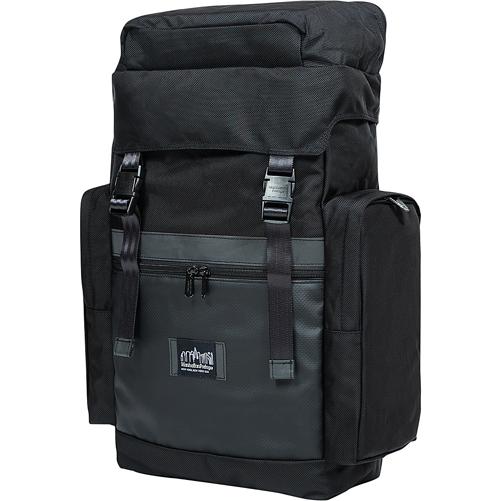 Manhattan Portage Twin Island Backpack VER.2 Black - Manhattan Portage Laptop Backpacks - Backpacks, Laptop Backpacks