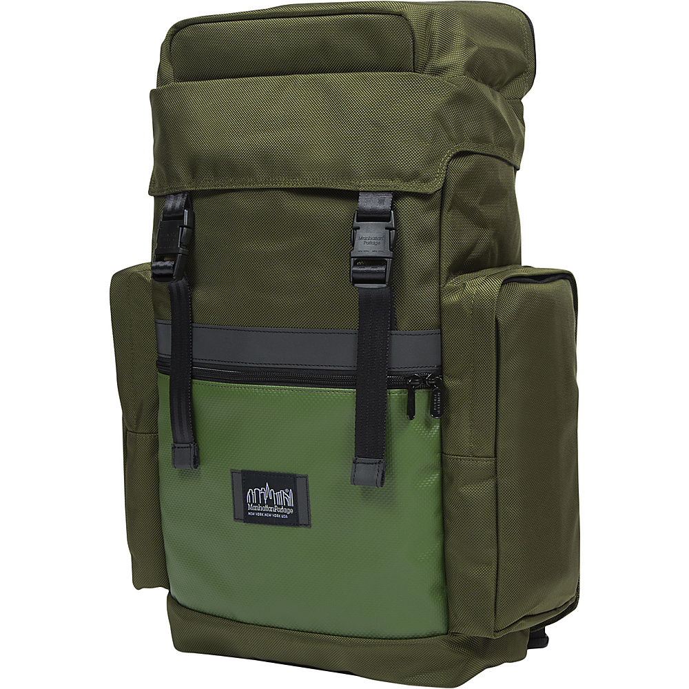 Manhattan Portage Twin Island Backpack VER.2 Olive - Manhattan Portage Laptop Backpacks - Backpacks, Laptop Backpacks