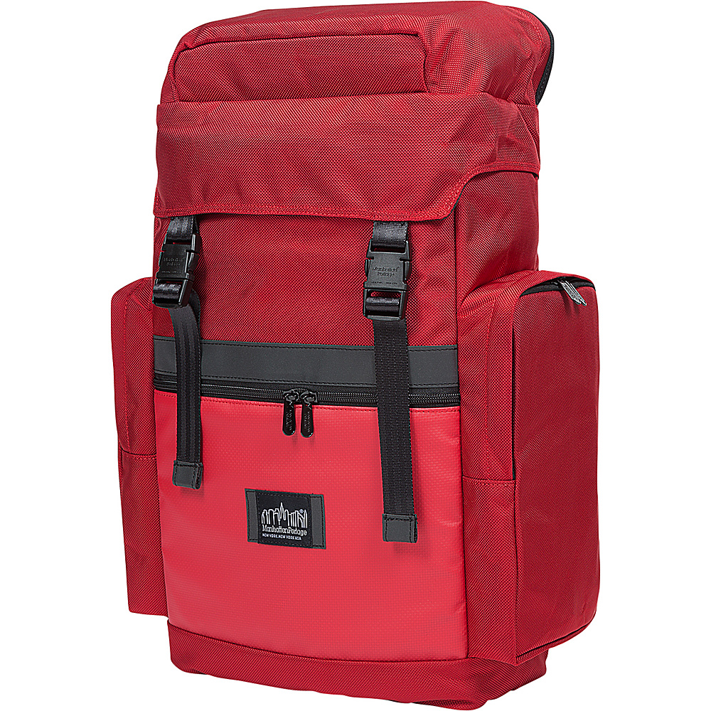 Manhattan Portage Twin Island Backpack VER.2 Red - Manhattan Portage Laptop Backpacks - Backpacks, Laptop Backpacks