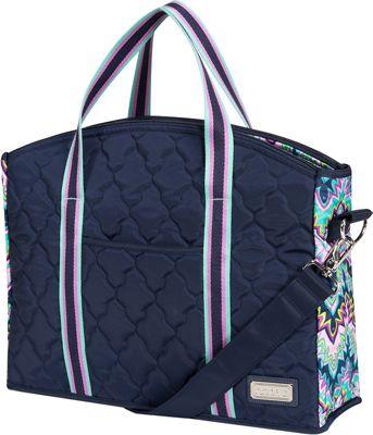 cinda b Professional Tote Midnight Calypso - cinda b Fabric Handbags