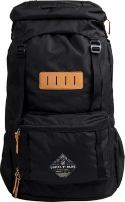 United by Blue United by Blue 45L Range Daypack Black - United by Blue Day Hiking Backpacks