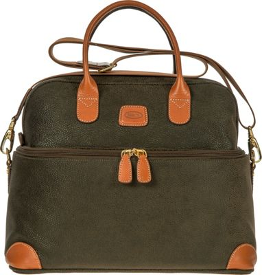 BRIC'S Life Tuscan Train Case Olive - BRIC'S Luggage Totes and Satchels